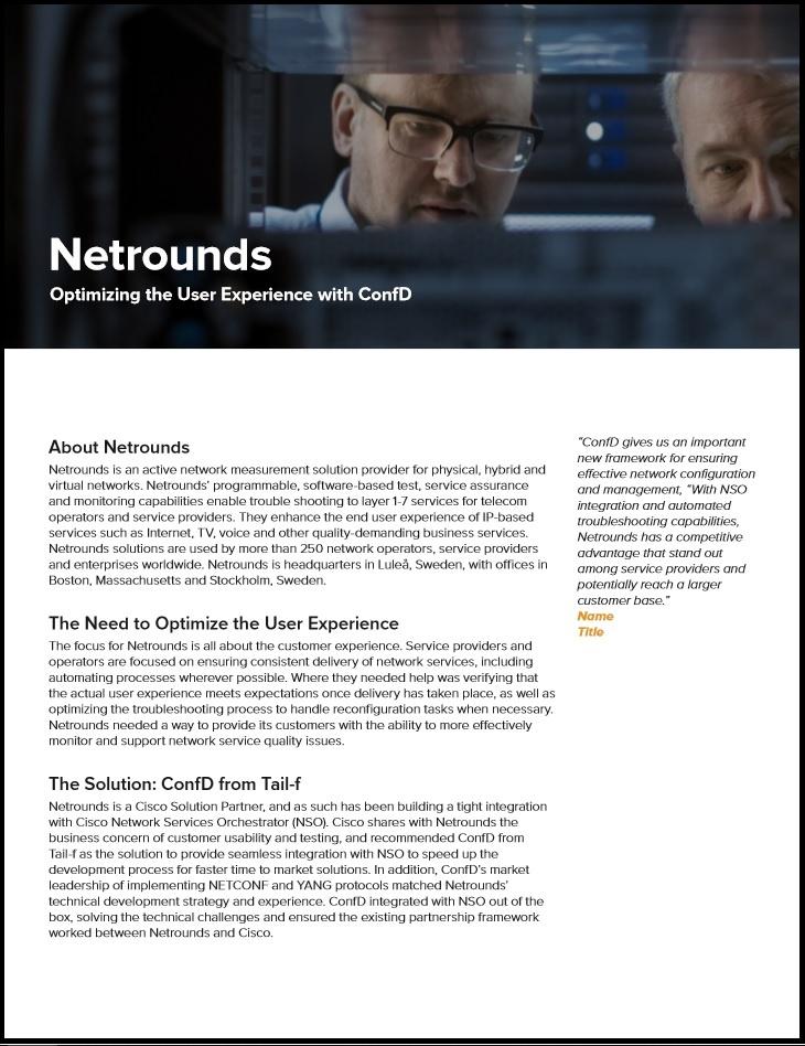 Netrounds Case Study Image