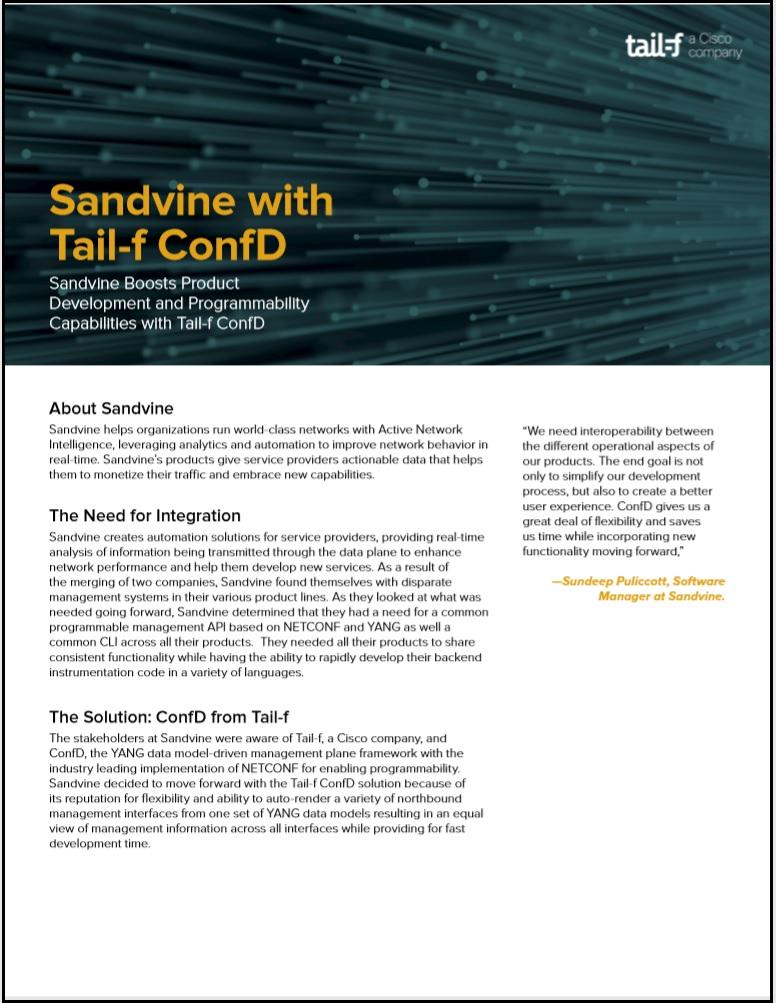Sandvine Case Study Image
