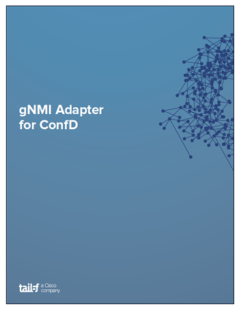 gNMI Adapter App Note Cover