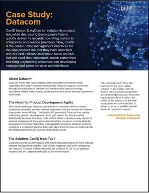 Datacom Case Study Image