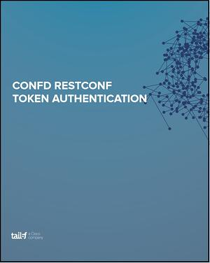 AppNote ConfD RESTCONF Token Authentication