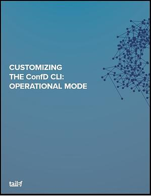 ConfD CLI_Operational Mode Image
