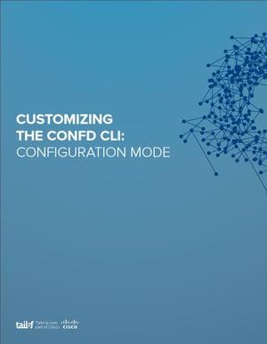 Customizing the ConfD CLI_Configuration Mode Image