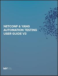 NETCONF_YANG Automation Testing Guide V3 Image